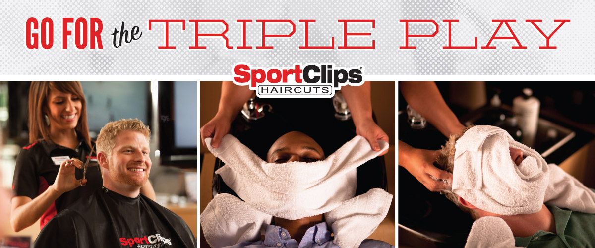 The Sport Clips Haircuts of Lake Charles - Nelson Rd. Marketplace Triple Play